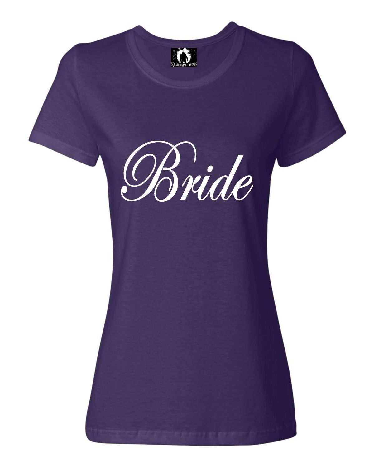 Womens Bride Bridal Party Wedding T-Shirt