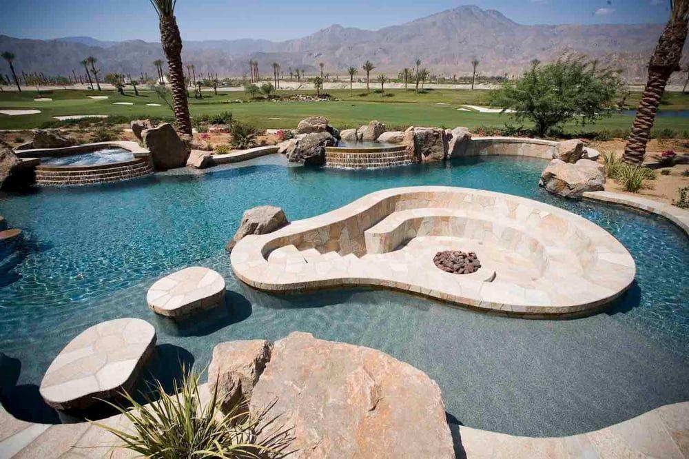 Photo Of California Pools Las Vegas Las Vegas Nv United States California Pools Pool Landscaping Backyard Pool Designs