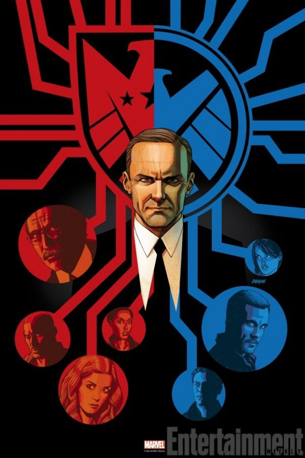 The Art of Evolution - agents-of-shield-coulson by Dave Johnson