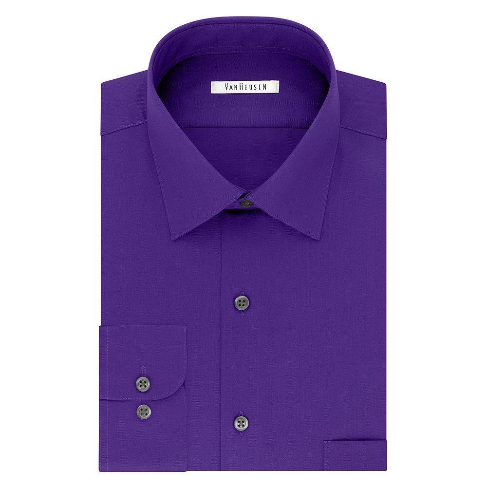 Mens Van Heusen Flex Collar Athletic Fit Dress Shirt Products