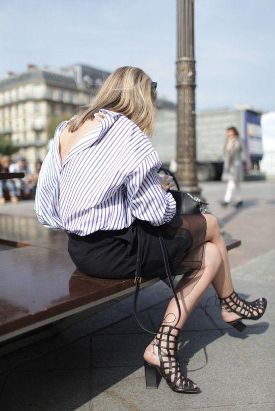 Parisienne: OPEN BACK