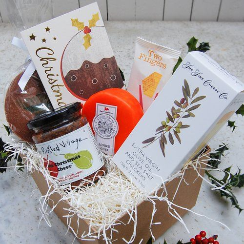 CHRISTMAS CHEER   artisan hamper — The Pickled Shop - What could bring a sense of Christmas cheer better than a whopping great box of goodies handpicked to get you in a jolly festive mood.   #christmas #christmasgifts #christmasgiftsforher #christmasgiftsforhim #christmaslove #xmas #xmasgifts #christmaspresents #christmashamper #hamper #giftbox #pickles #preserves #cheese #cheeselover #cheeseandbiscuits #cheeseboard #giftsforher #giftsforhim #gifts #thoughtfulgifts #christmasjoy