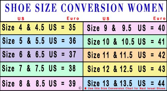European to us shoe size chart also crocheting and knitting pinterest rh