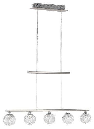 Paul Neuhaus, Pendelleuchte, 5xG4   14W, chrom -    led - unterbauleuchten led küche
