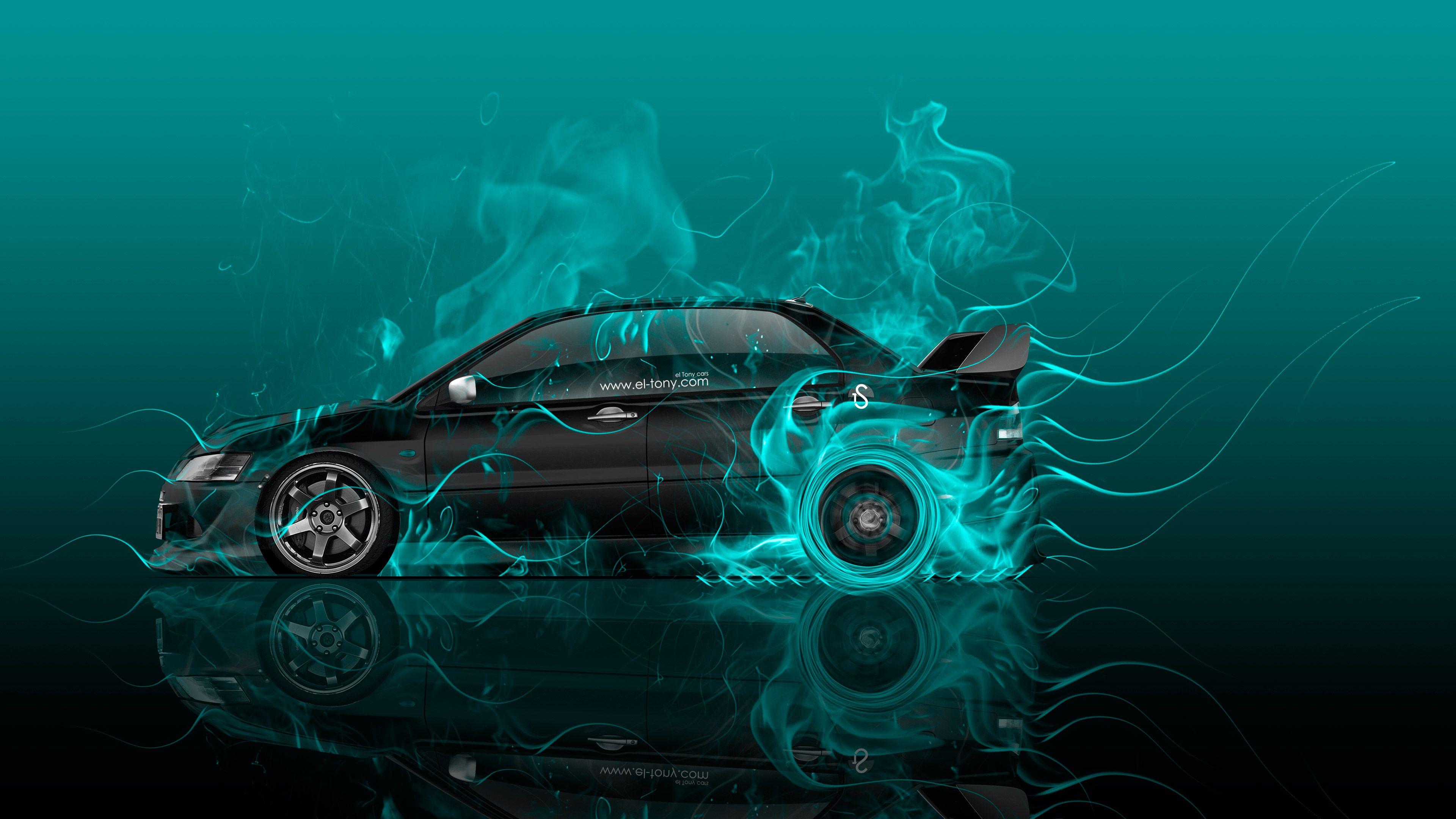 Audi A Avant Quattro Fire Car Mika Jumisko Wallpapers El Tony