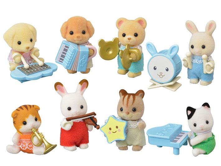 Sylvanian Families BABY EXPLORERS SERIES SQUIRREL Calico Critters
