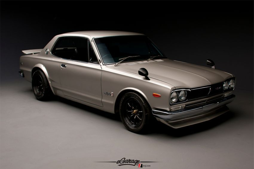 This Is A Muscle Car From Japan Nissan Skyline Gt R Automotive