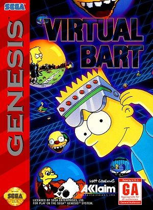 Virtual Bart | buy THESE  | Sega genesis games, Computer video games