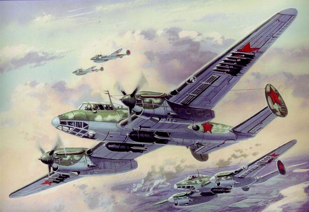 Пе - 2 | Plastic model kits, Diving, Bomber