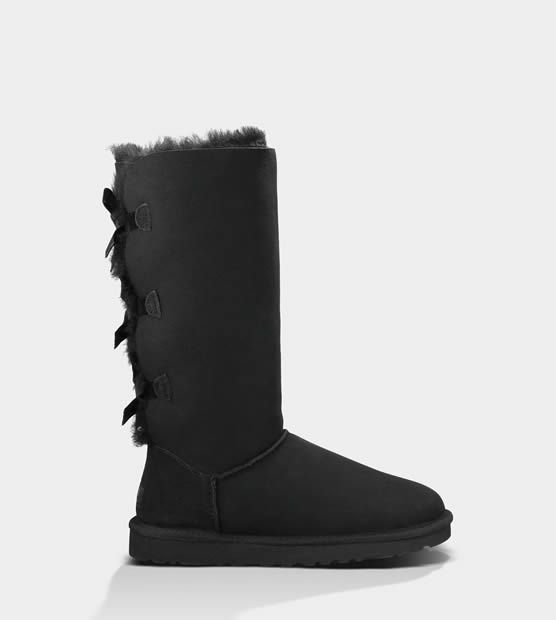 UGG Donne Stivali Classic Bailey Bow Tall Nero €132.89