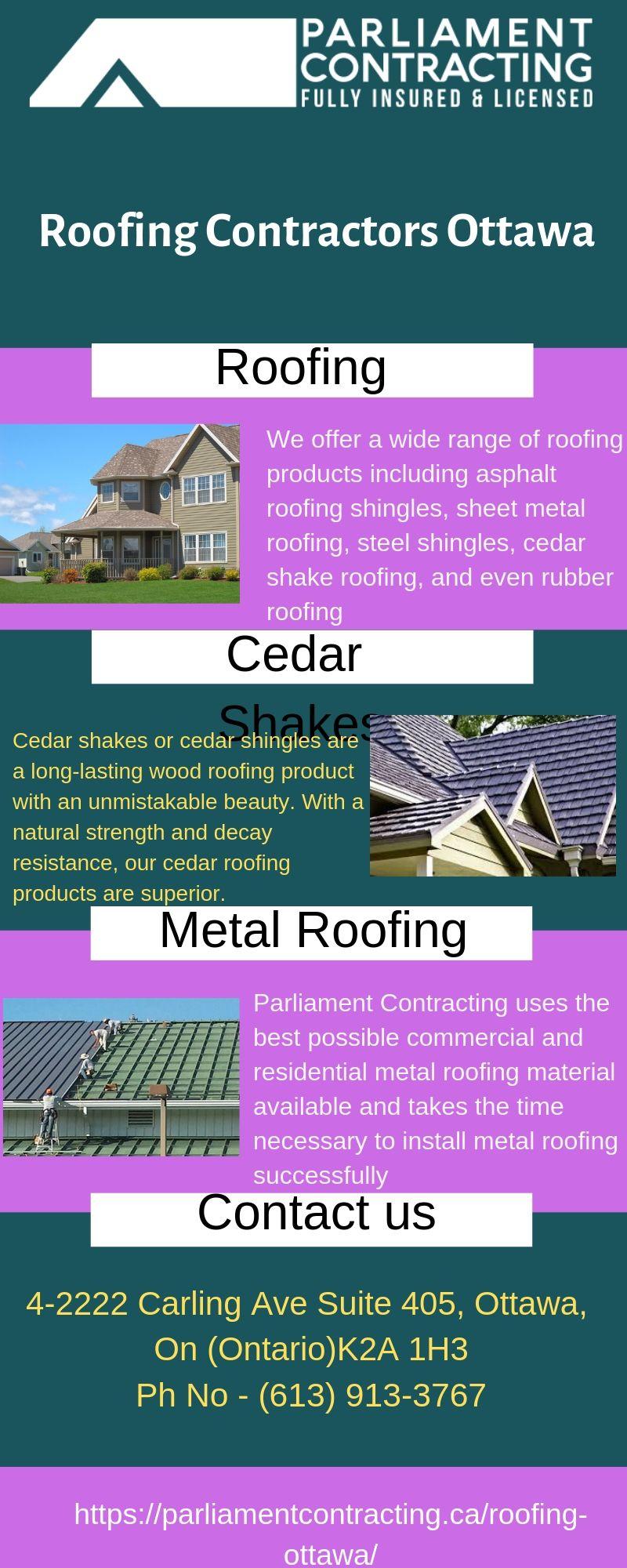 Roofing Contractors Ottawa Parliament Contracting Roofing Roofing Contract Roofing Contractors