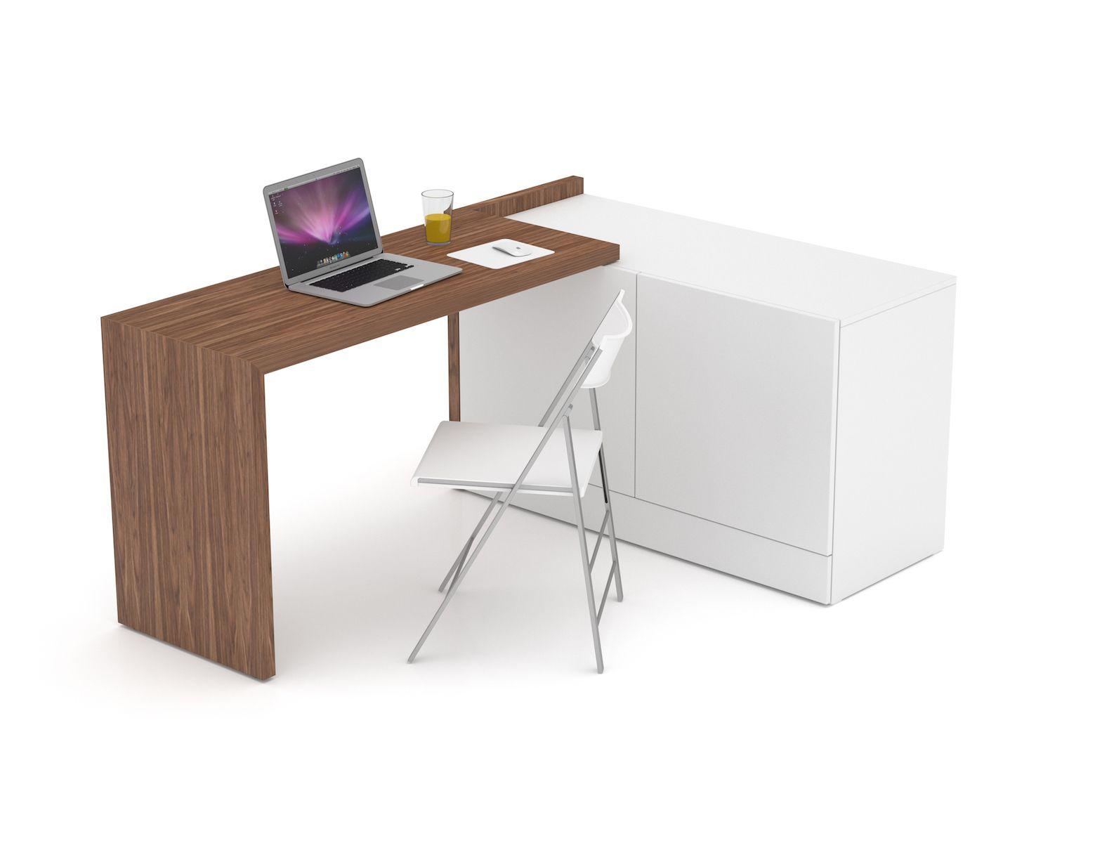 Das 3 In 1 Multifunktionsmobel Schreibtisch Stauraum Mobel Fur