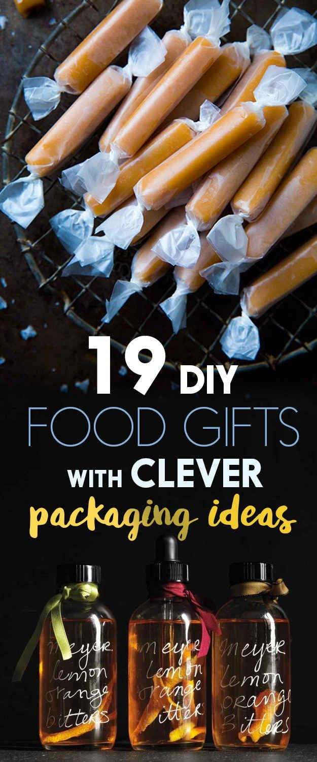 19 Homemade Food Gifts That You Can Actually Make   Food gifts ...