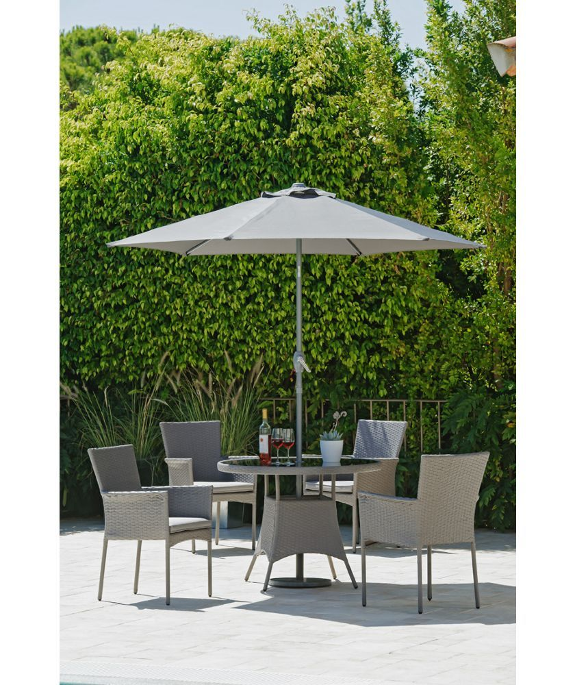 Buy havana 4 seater rattan effect patio set grey at argos co uk your online shop for garden table and chair sets