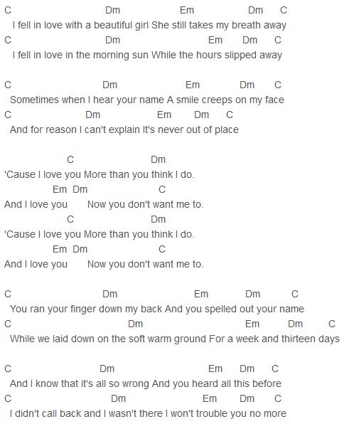 Alex & Sierra - I Love You Chords