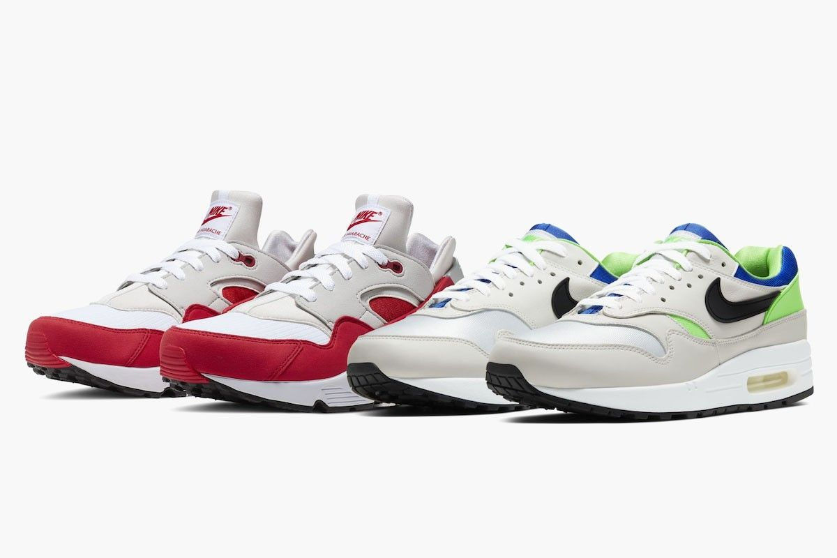 Nike Swaps Og Colorways Of The Air Max 1 Air Huarache Mit Bildern