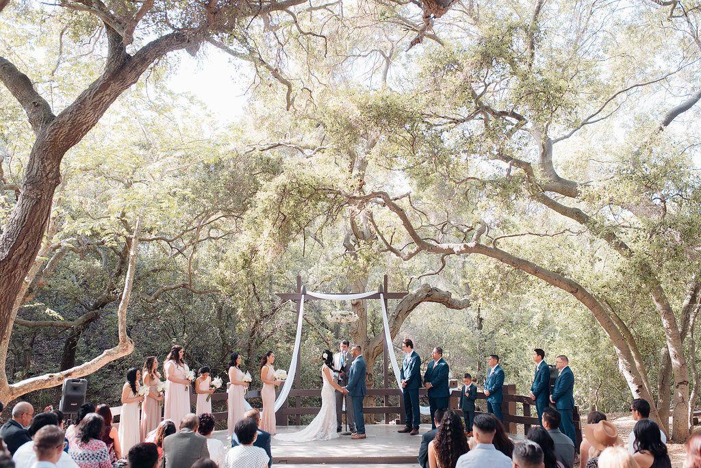 An Oak Canyon Nature Center Rustic Charm Wedding Wedding