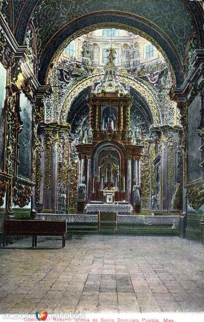 Fotos de Puebla, Puebla, México: Capilla del Rosario, de la iglesa de Santo Domingo
