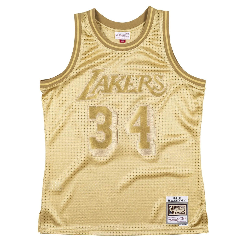 Mens Midas Swingman Jersey Los Angeles Lakers NBA 1996-97 ...