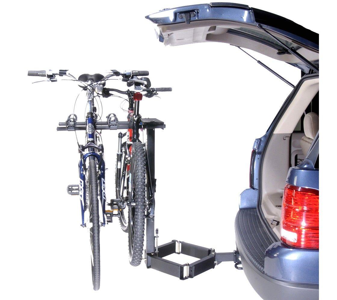 2x2 Advantage Glideaway Deluxe 4 Bike Carrier Black 4 Bike Carrier Car Bike Rack Bike