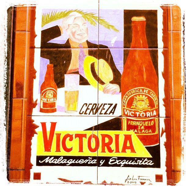 Spain Malaga Beer Cervezavictoria Cerveza Victoria Mosaico