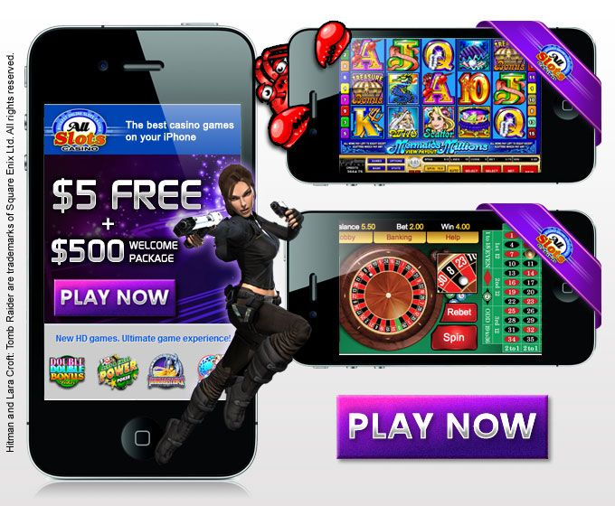 All Slots Casino Mobile Games