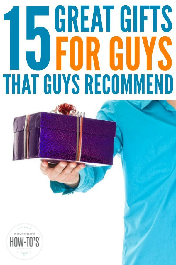 15 Great Gifts for Guys (According to Guys) | Great gifts ...
