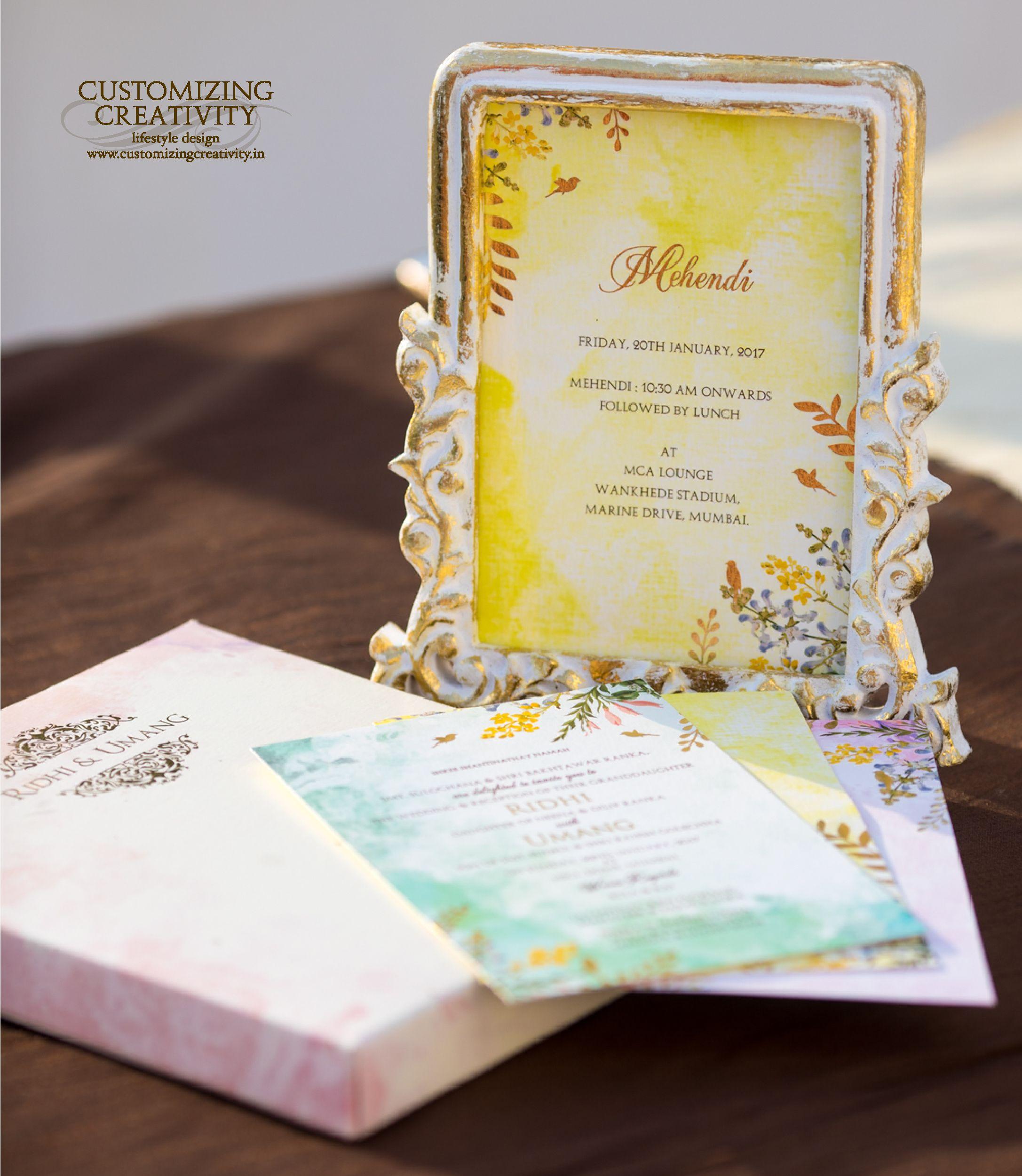 wedding invitation cards mumbai india%0A Wedding Invitation cards  Indian wedding cards  invites  Wedding  Stationery  Customized invitations