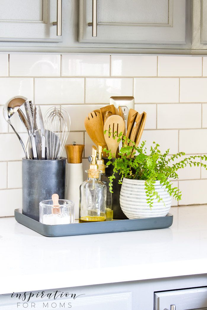 Organize Your Kitchen With These Simple Storage Hacks Kitchen Counter Organization Small Kitchen Organization Kitchen Counter