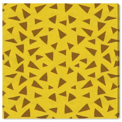 East Urban Home Leinwandbild Giraffe Pattern | Wayfair.de