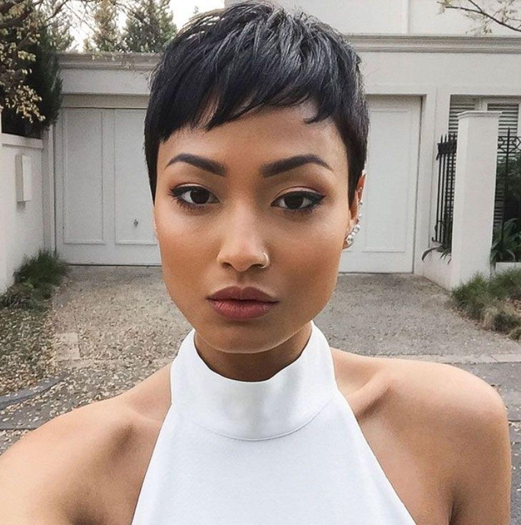 cute short hairstyles for black women rock in them pinterest