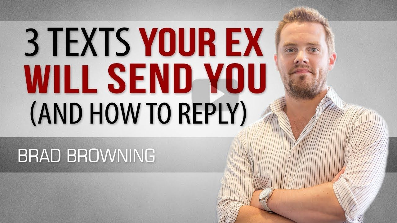 3 texts your ex will send you and how to reply with