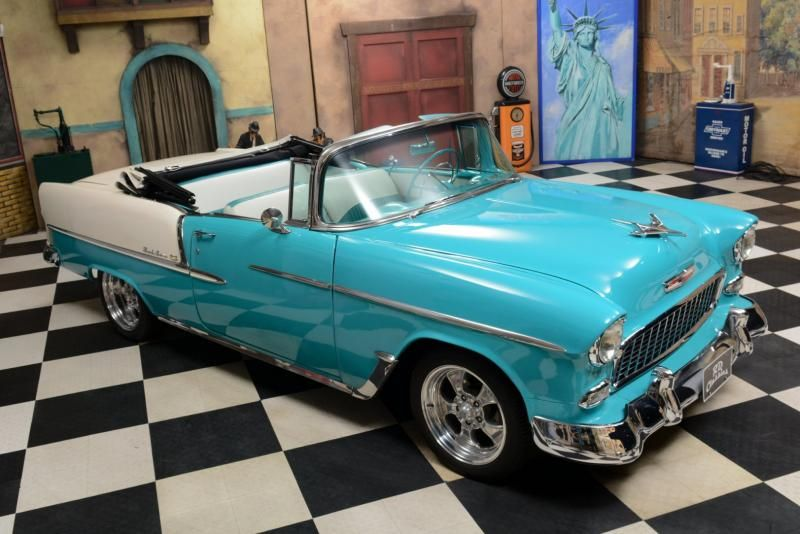 1955 Chevrolet Bel Air Convertible Classic Motors Veteran Car
