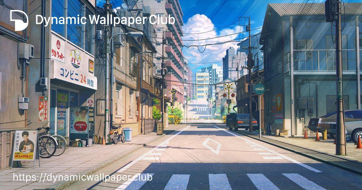 Dynamic Wallpaper Club Kimi No Na Wa Tokyo Skyline Anime Background