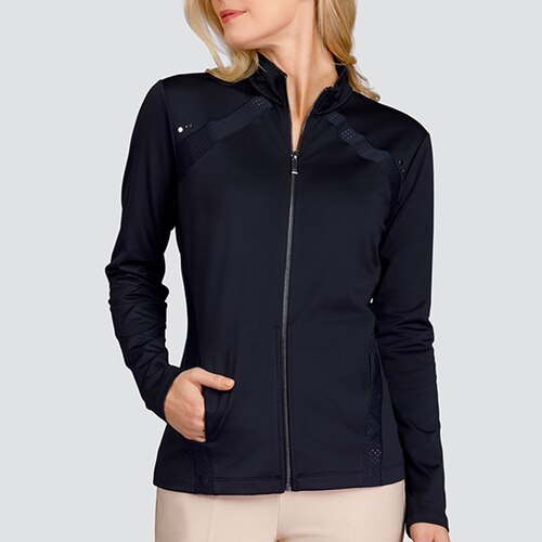 Shop Ladies Golf Jackets Including The Tail Gail Active Jacket In White Or Black Golf Outfits Women Golf Attire Golf Jackets