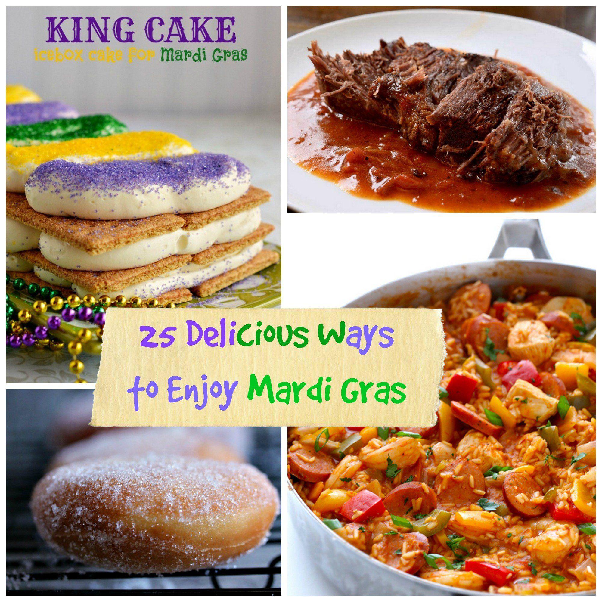 25 delicious ways to celebrate mardi gras | mardi gras | pinterest