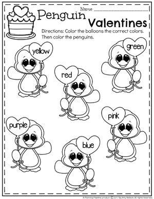 37 FREE Preschool Valentine's Day Worksheets & Printables