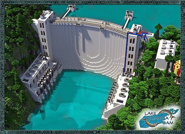 Lake Iliamna Dam Minecraft World Save