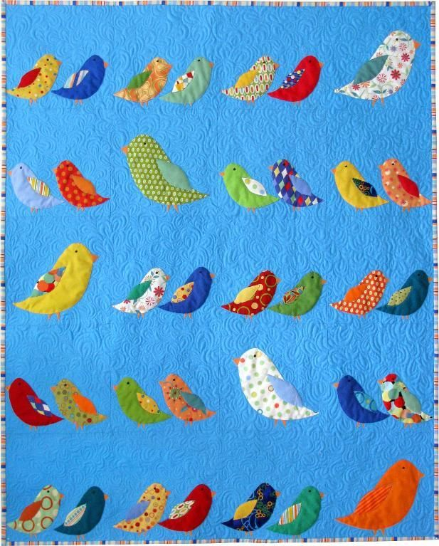 Let Your Imagination Fly Away With These Bird Quilt Patterns ... : bird quilt pattern - Adamdwight.com