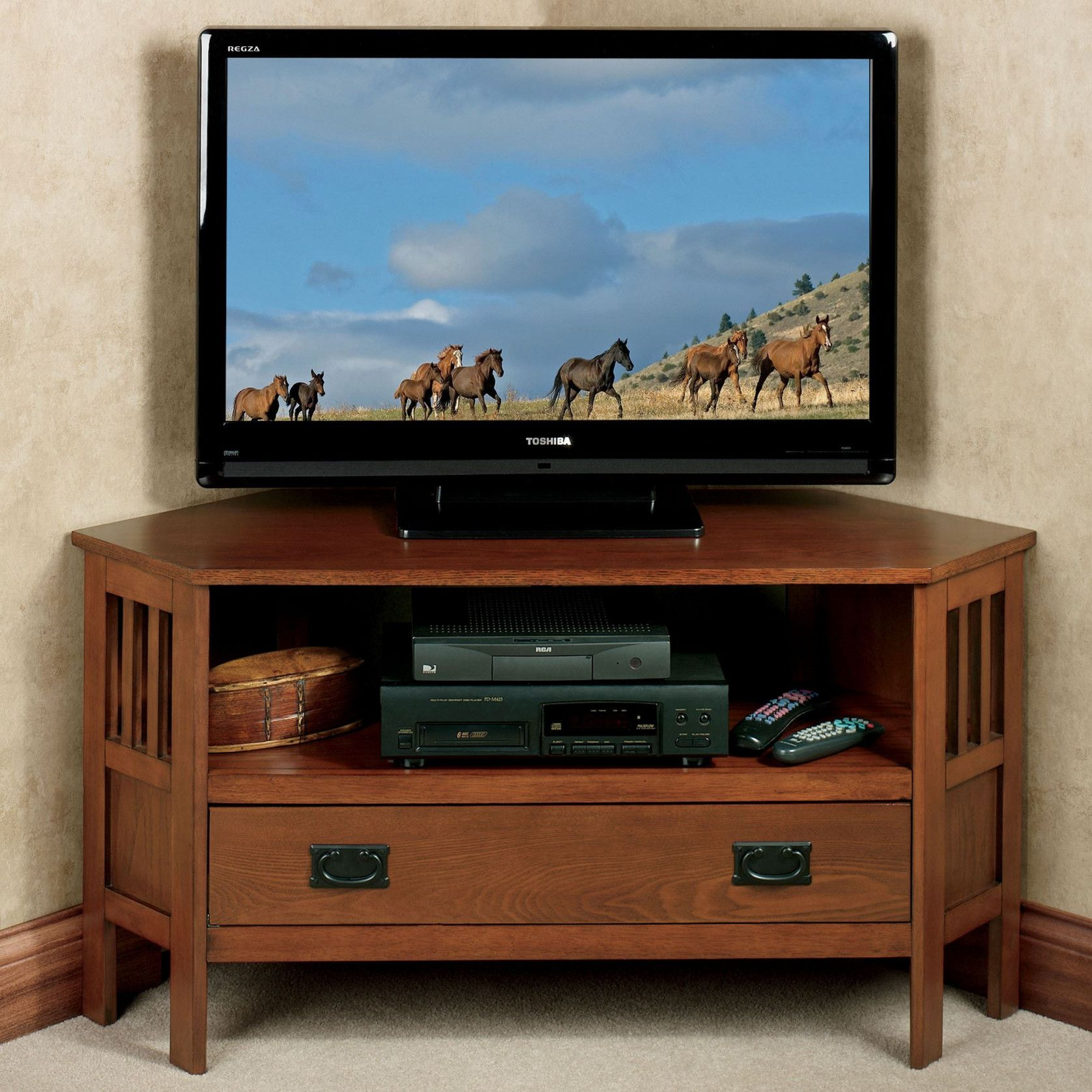 50 Corner Tv Cabinet For 55 Inch Tv Kitchen Decorating Ideas Themes Check More At Http Www Planetgreenspot Co Corner Tv Tv Media Stands Fireplace Tv Stand