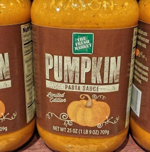 Pasta Saucen Kurbis Gewurz Gewurze Clorox Bleich Fallen Handwerk Pumpkin World Pumpkins Has Gone Picture That