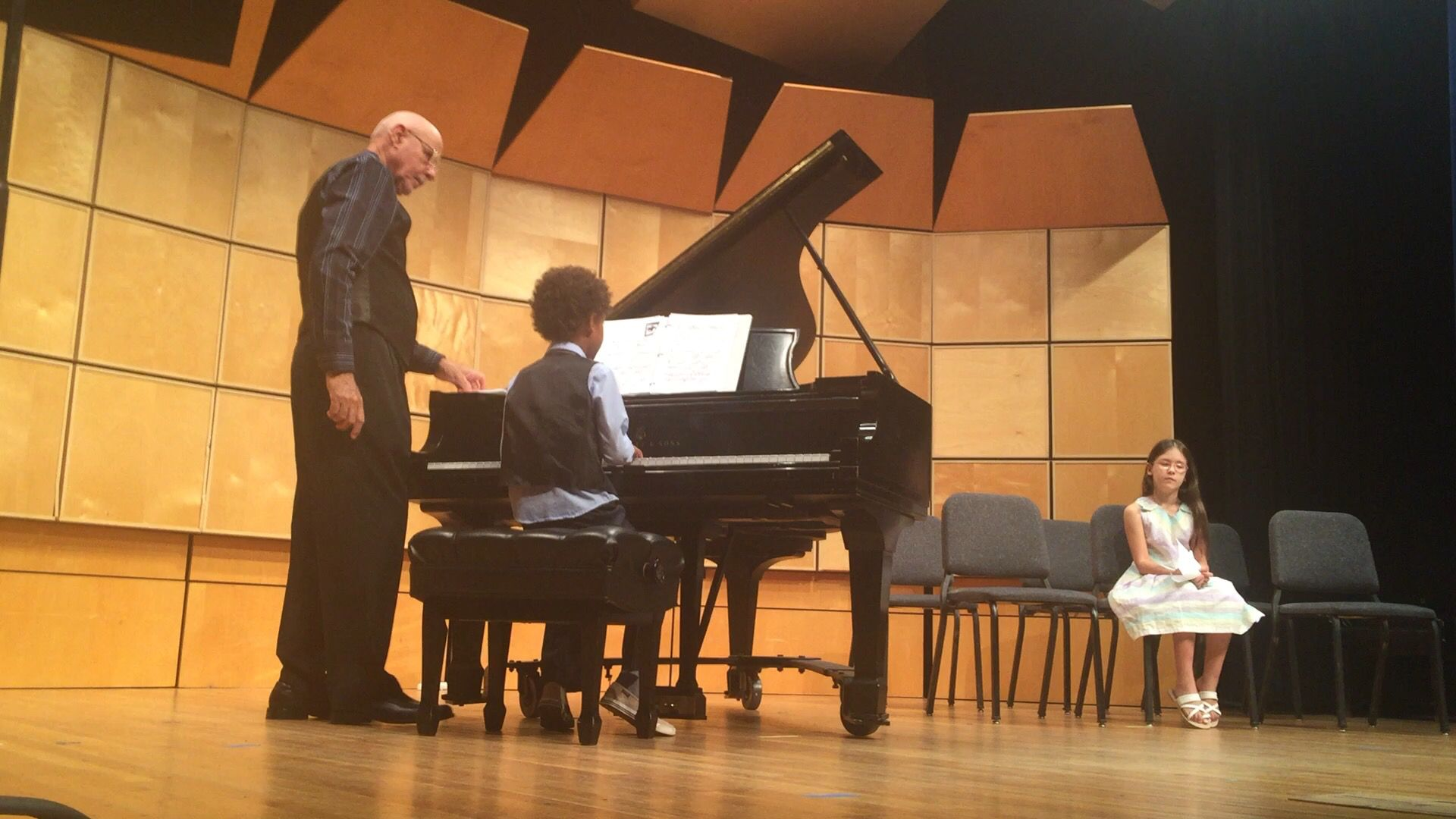 Thomas 2nd #Piano #Recital: Very short because I forgot to hit the record button, he was one of the first of over 56 #children to play
