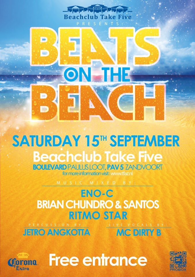 Beats on the Beach poster