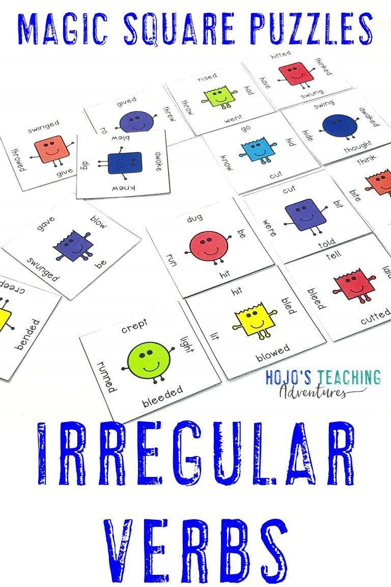 Irregular Verbs Google Slides Worksheet Alternative Activities Or Games Literacy Centers Literacy Centers Games Middle School Classroom [ 1152 x 768 Pixel ]