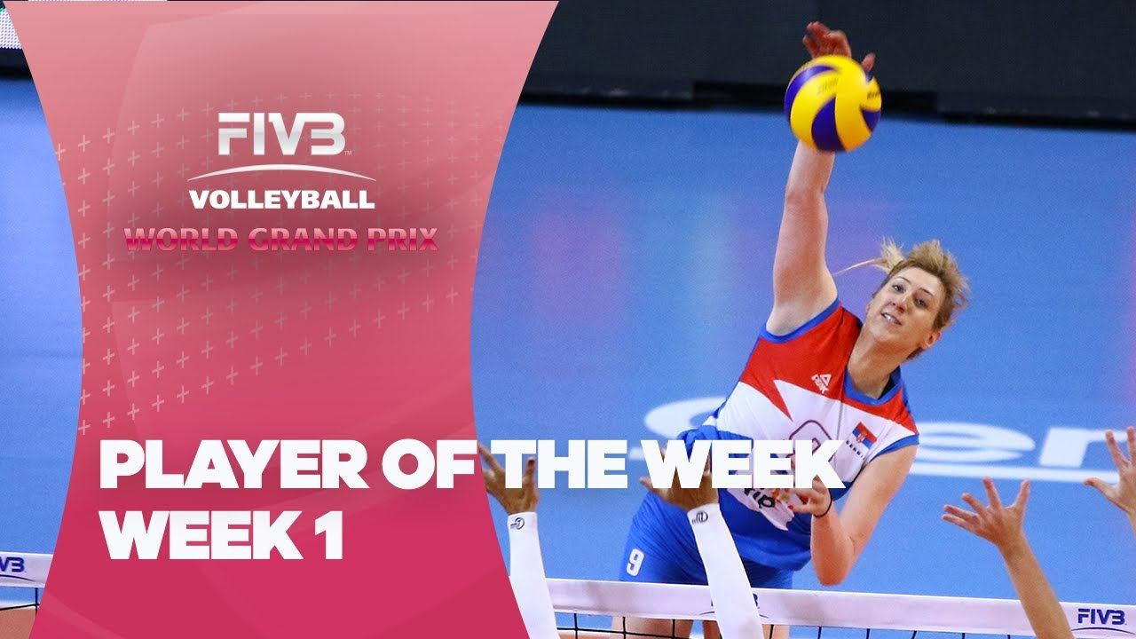 Fivb World Grand Prix Week 1 Player Of The Week Female Volleyball Players Volleyball Quotes Volleyball Players