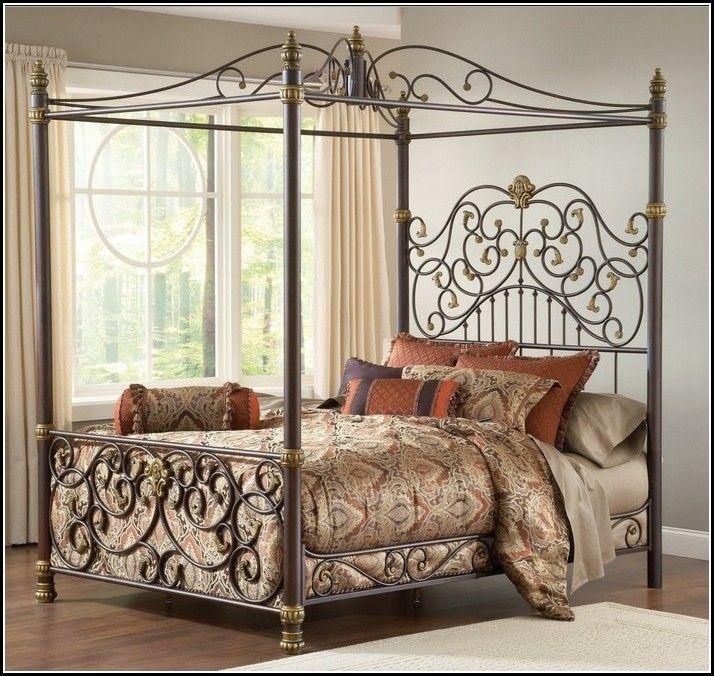 Queen Metal Bed Frame Costco | Camas de Ferro | Pinterest | Metal ...