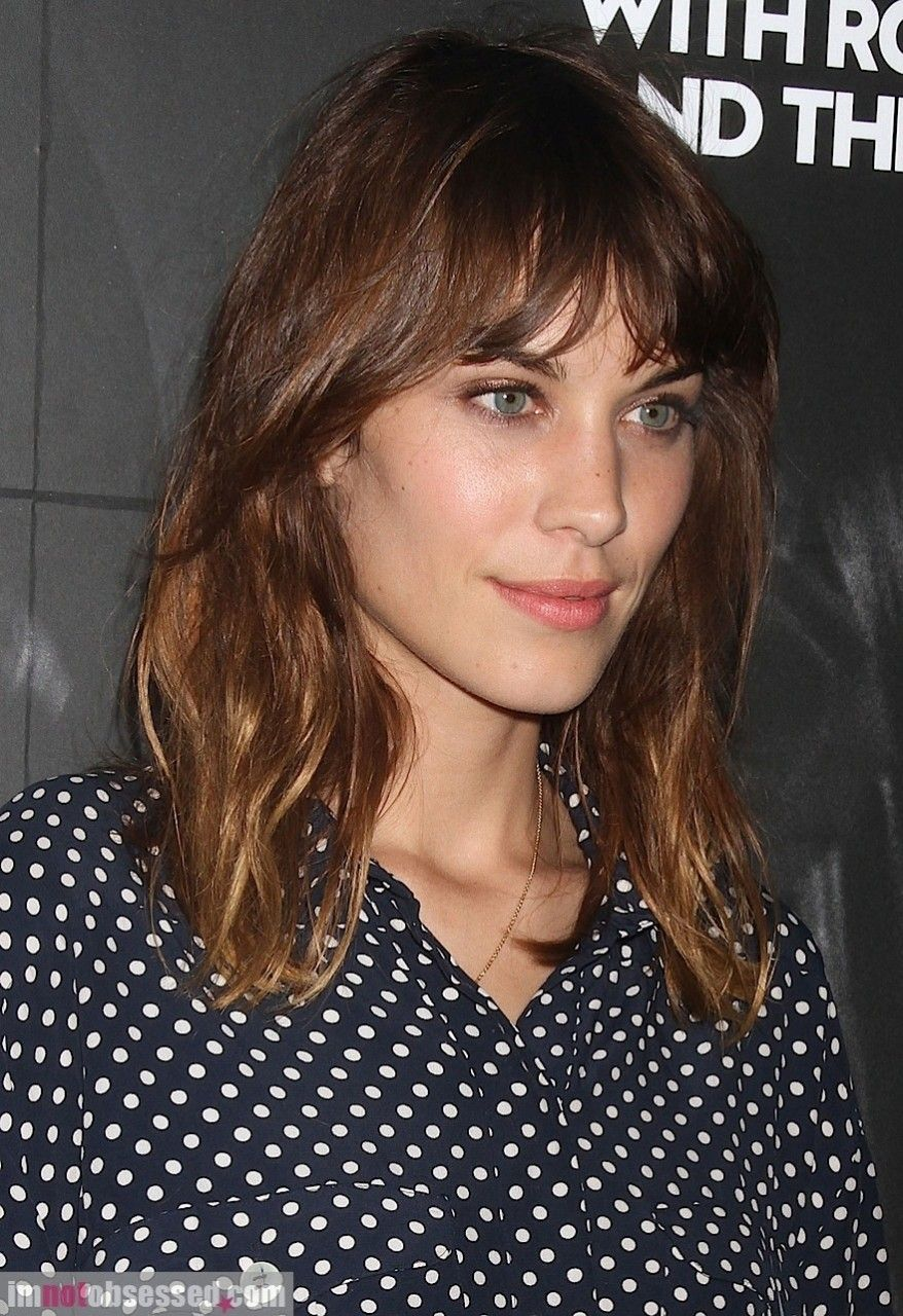 Alexa Chung Doesn T Get Enough Credit On Here Imgur Alexa Chung Hair Alexa Chung Haircut Short Hair Styles