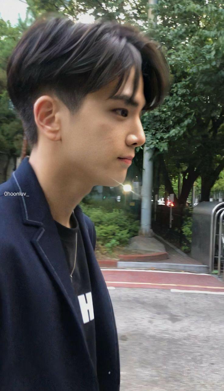 Younghoon Potongan Rambut Pria Rambut Pendek Korea Gaya Rambut Pria