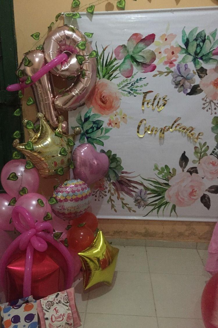 Decoracion Rosa Dorado