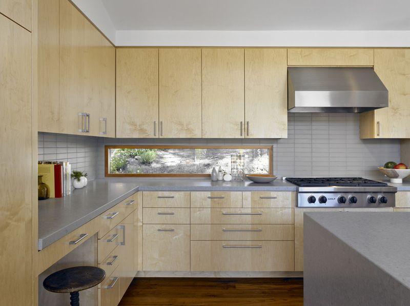 Kitchen Backsplash By Window long low widow instead of backsplash modern kitchenyamamar
